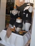 Merchandising vitrine, Simone Lingerie, Saint-Etienne