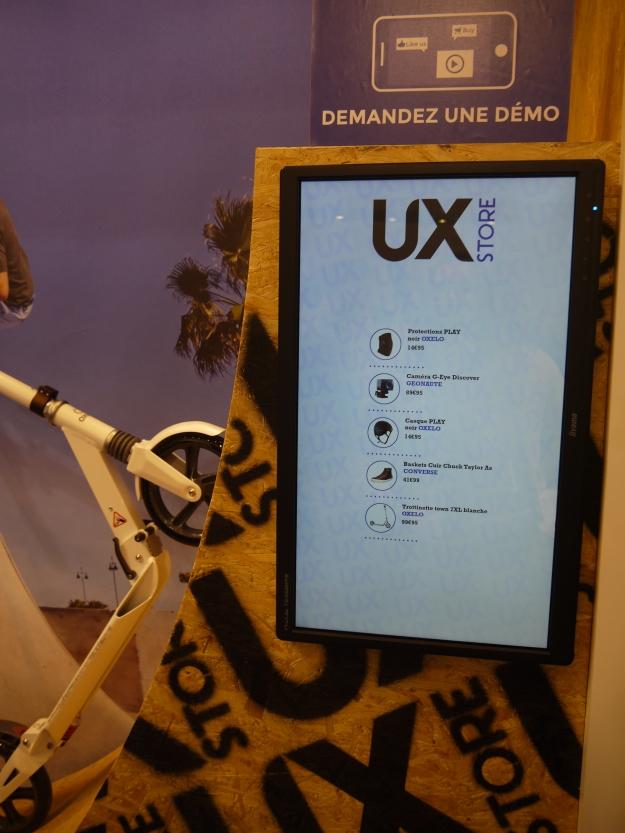UX store chez Cameleon